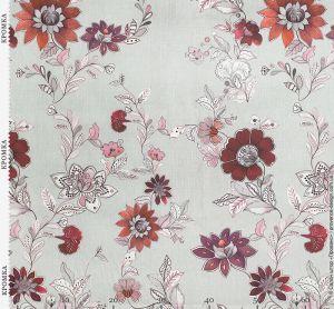 Ткань с цветочным узором в стиле Прованс