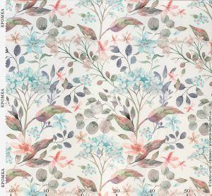 Ткань с цветами в стиле Прованс