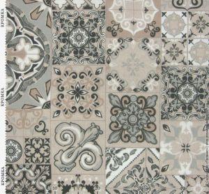 Ткань с квадратами в стиле пэчворк