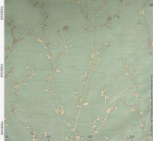 Ткань под тафту с вышивкой веточками