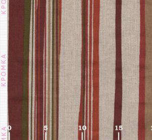 Ткань в неровную полоску в стиле Прованс