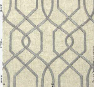 Ткань с текстурой полотна и вышивкой