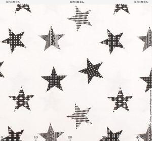 Ткань с орнаментом в виде звезд