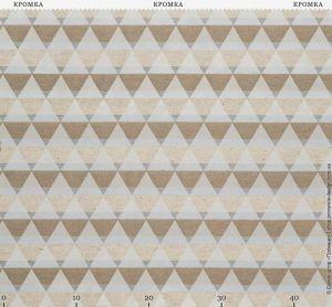 Жаккардовая ткань с геометрическим рисуном