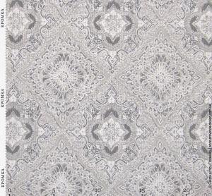 Натуральная ткань с ажурными ромбами