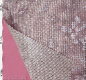Натуральный плотный тюль с цветами