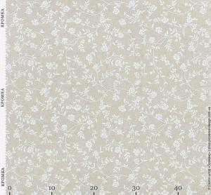Натуральная ткань с мелкими цветочками