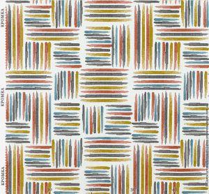 Ткань с орнаментом из полос