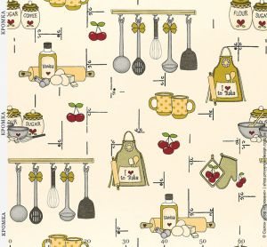 Портьерная ткань кухонной тематики