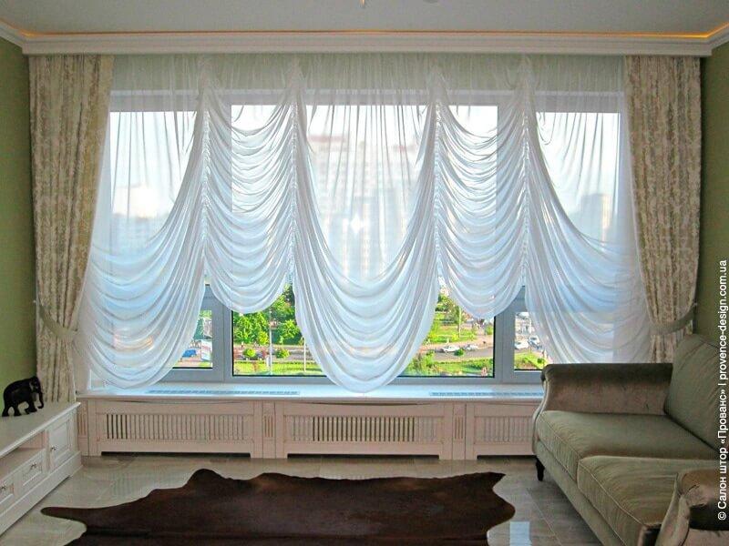 Австрийские шторы