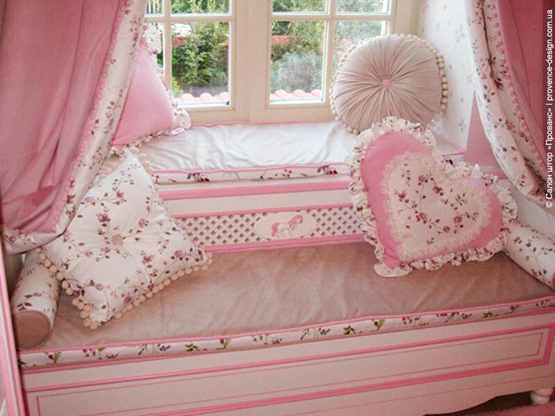 Подушки и сидушки в стиле Прованс фото