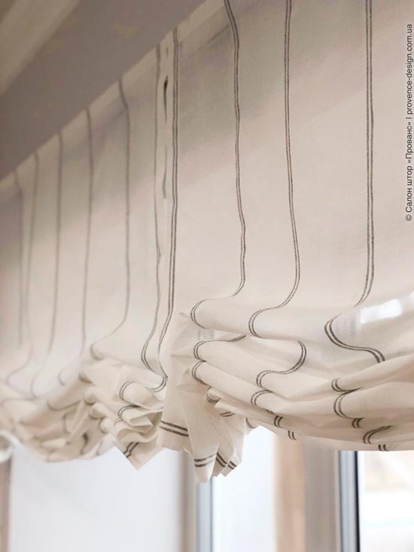 Римские шторы без вставок на кухню фото