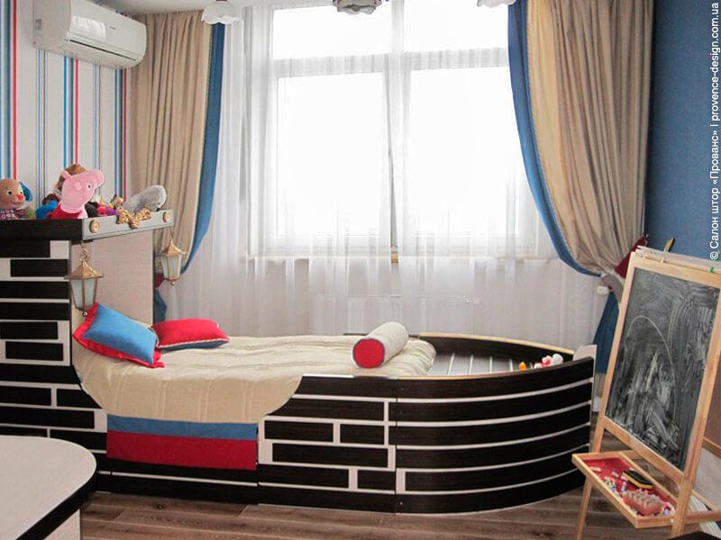 Покрывало на кровать в форме корабля фото