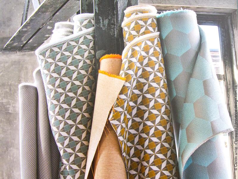 Жаккардовые ткани для уличных штор фирмы Sunbrella фото