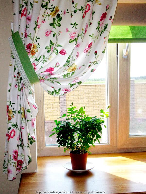 Кухонные шторы под заказ фото
