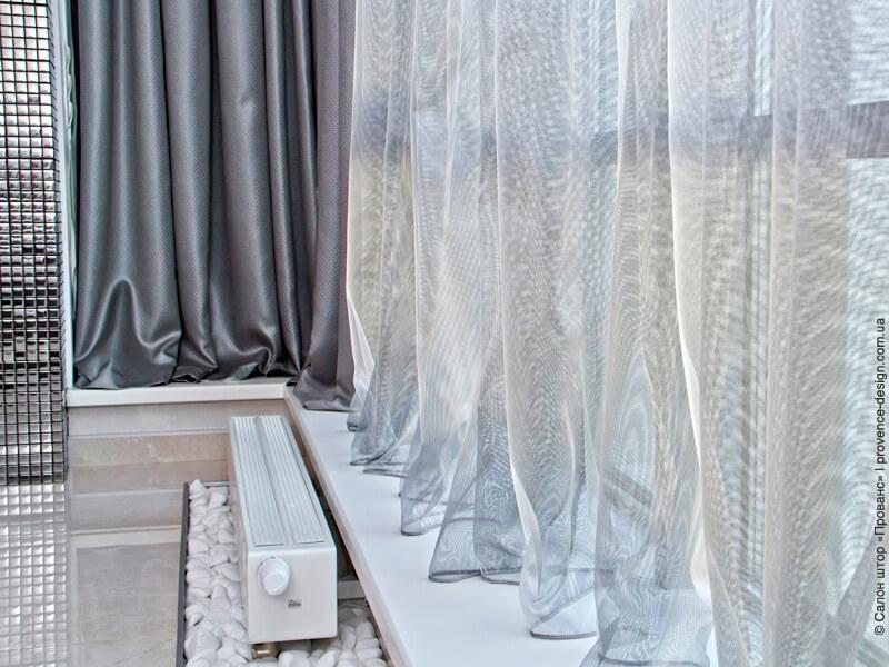 Радиатор отопления не закрыт шторами фото