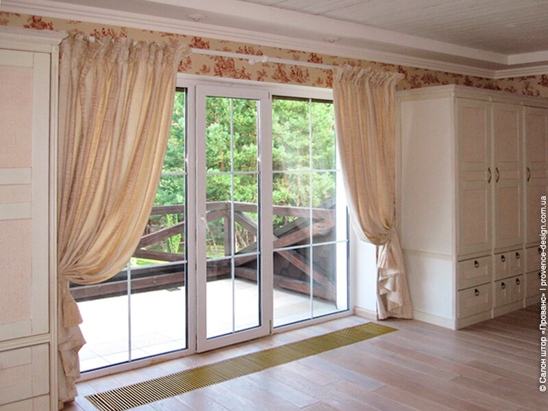Длинные шторы сохраняющие тепло фото