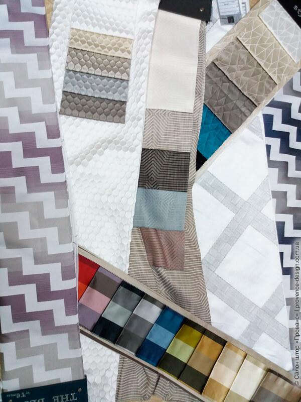 Ткани для штор в современном стиле фото