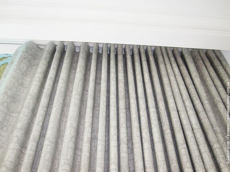 Верх шторы складка волна фото
